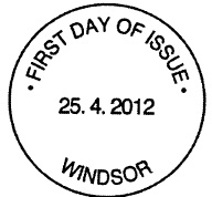 Windsor FDI postmark.