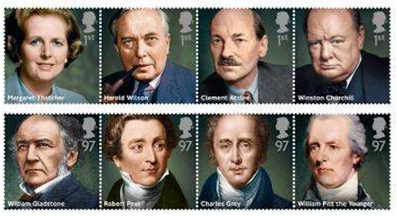 British prime ministers new stamps 14 october 2014 norvic philatelics - Office of prime minister uk ...