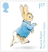 Beatrix Potter stamp.