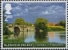 Blenheim Palace stamp.