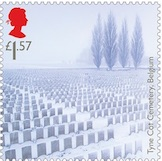 Tyne Cot Cemetery Stamp.