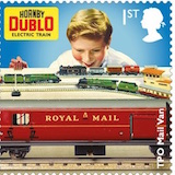 Stamp showing Horby Trains Royal Mail TPO.