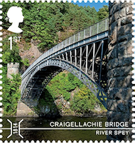 Craigellachie Bridge Moray.