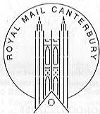 Postmark showing St Paul's Cathedral.
